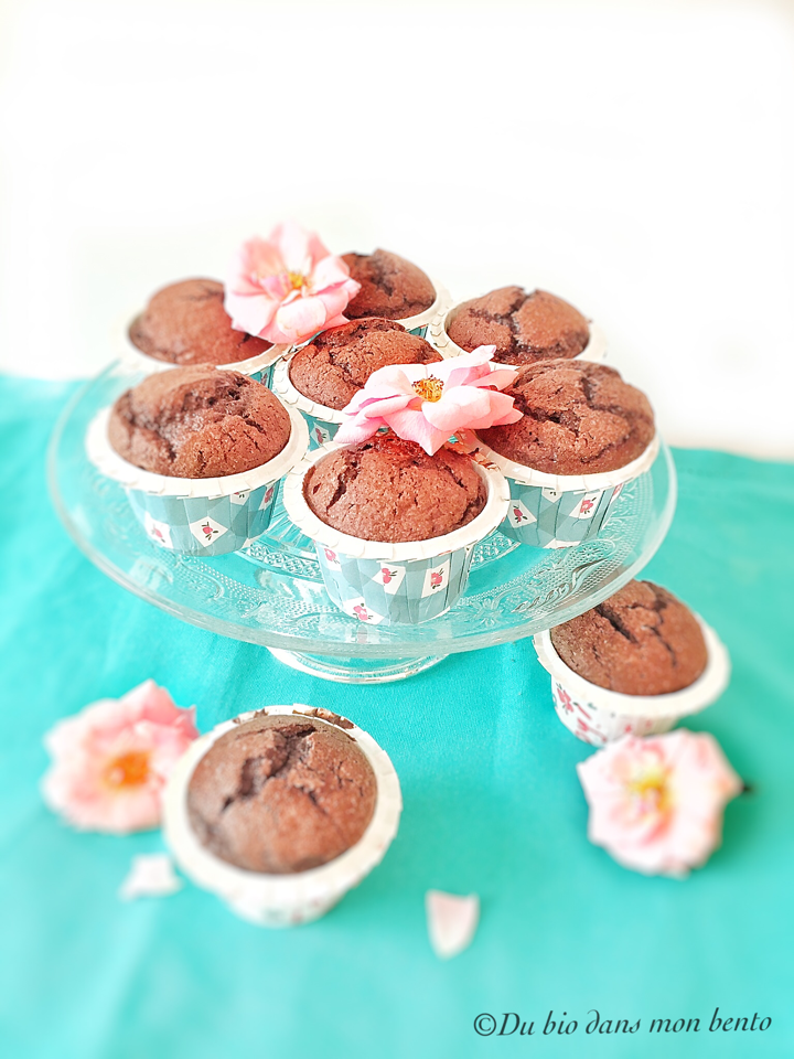 Muffins chocolat sans beurre