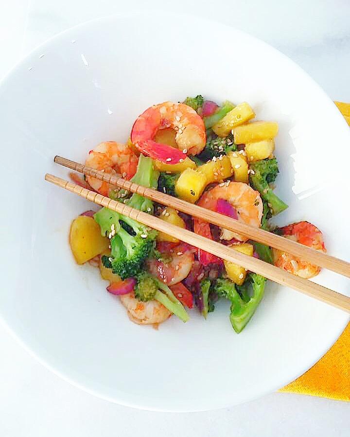 Wok de crevettes sucr sal du bio dans mon bento - Cuisiner avec se que j ai dans mon frigo ...