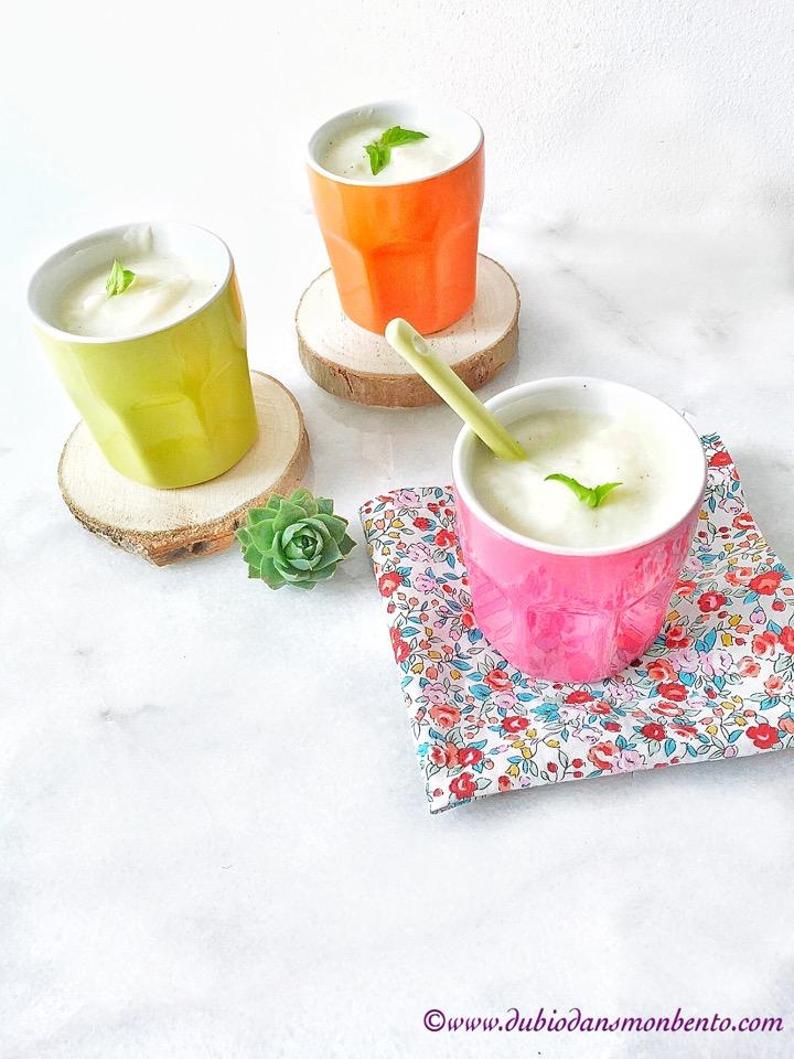 Crème de chou-fleur vegan