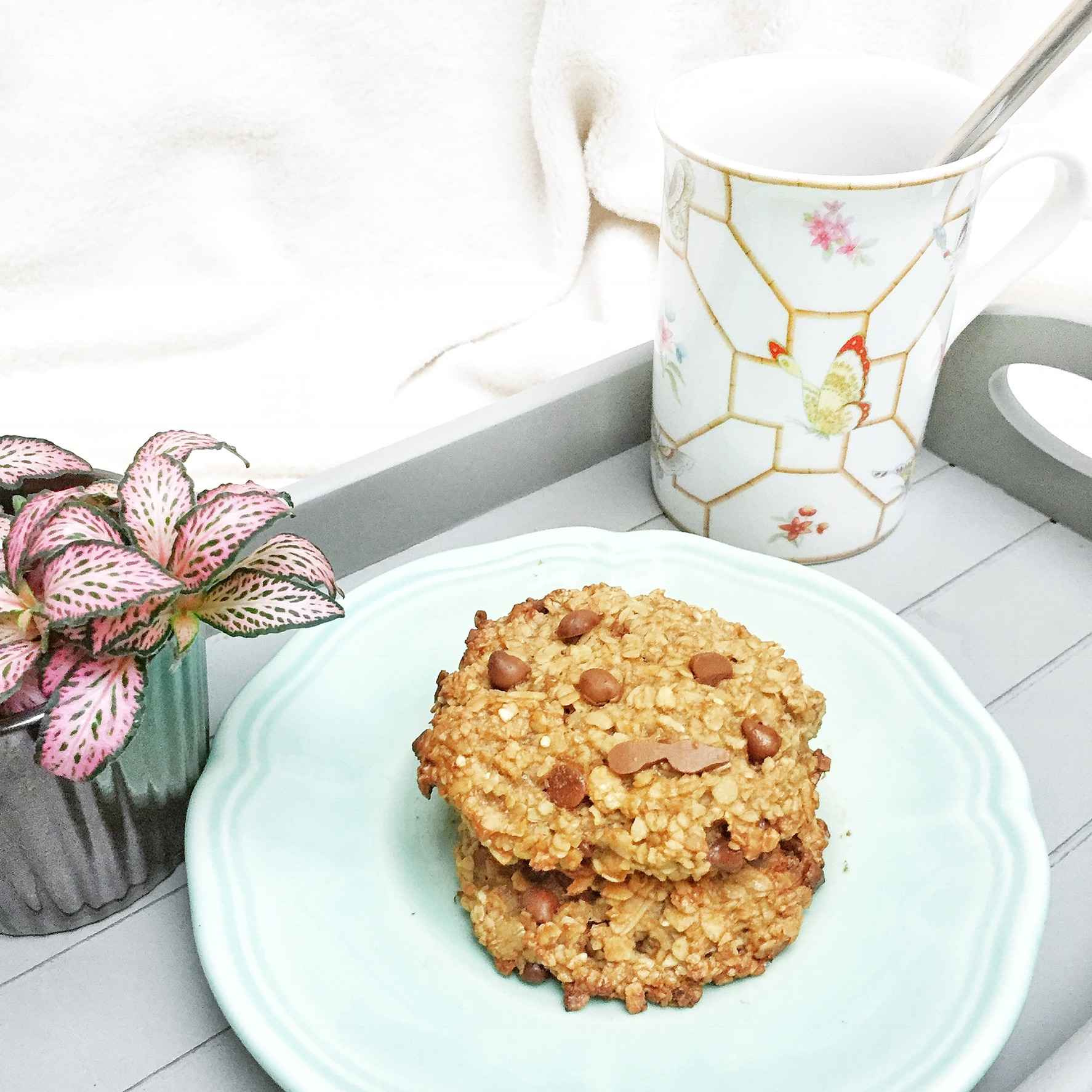 Cookies au chocolat vegan et healthy