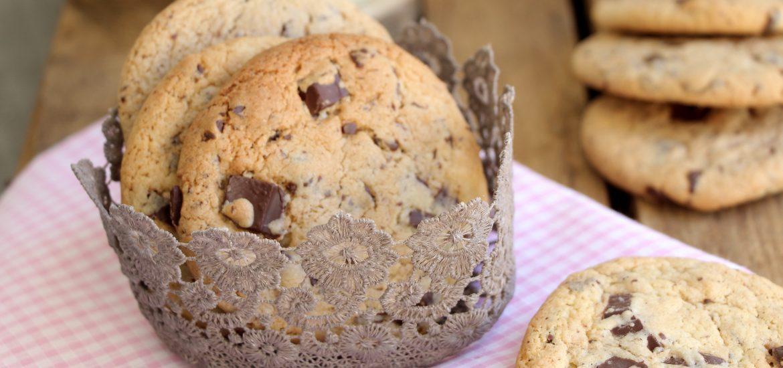 cookies géants aux pépites de chocolat