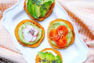toasts de patate douce les tartines healthy