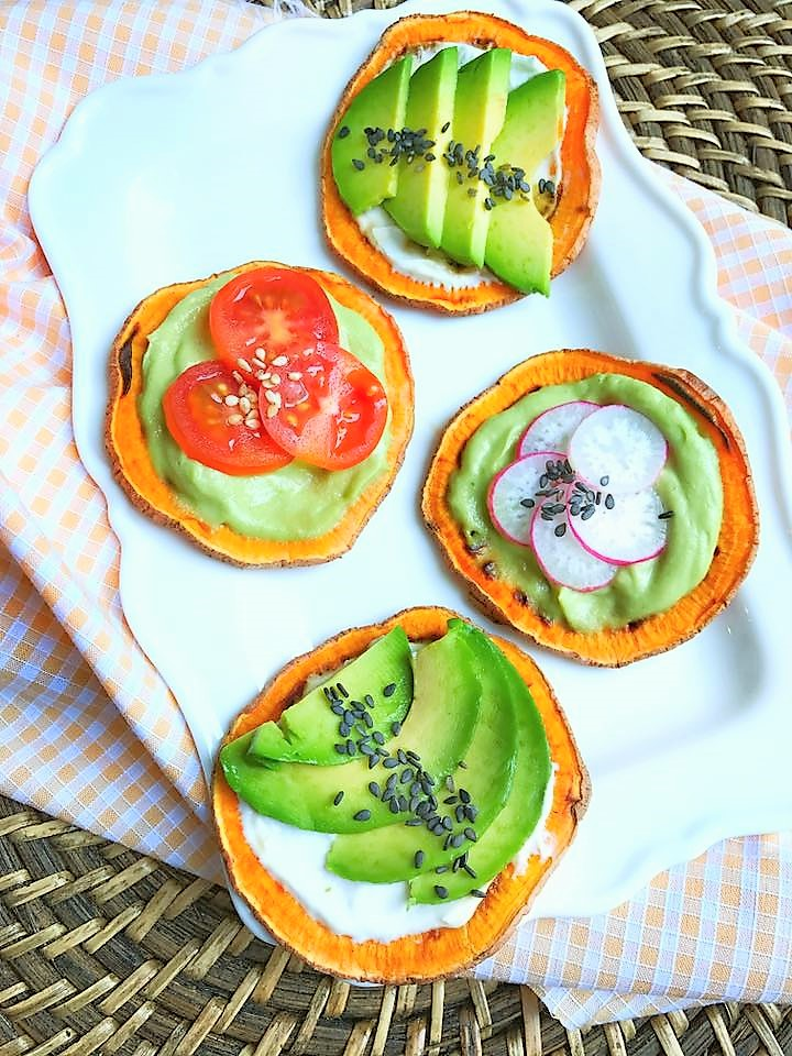 toasts de patate douce la tartine healthy