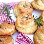 scones salés olive parmesan