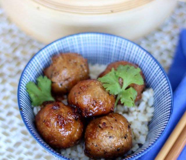 Boulettes thaï végétaliennes