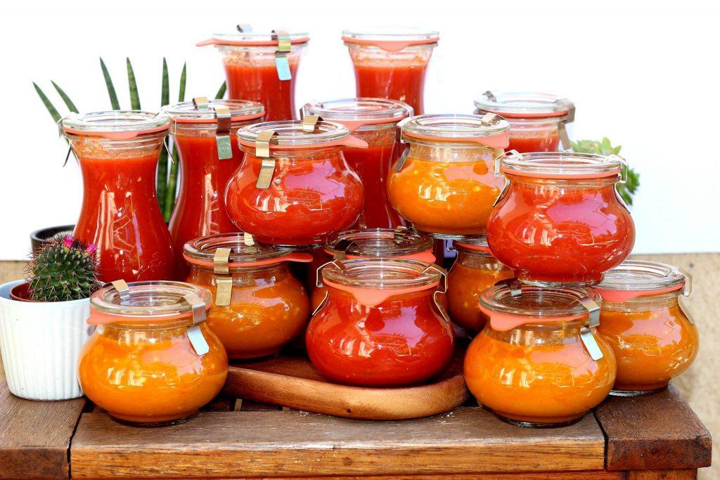 Faites vos conserves de sauce tomate maison