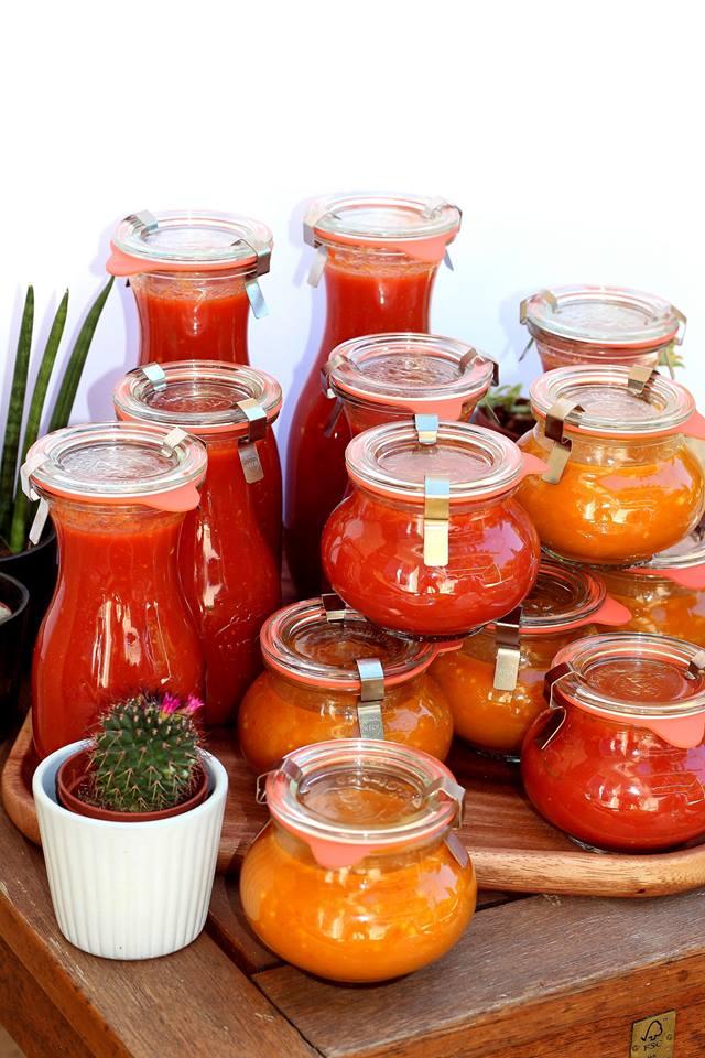 Conserve sauce tomate maison