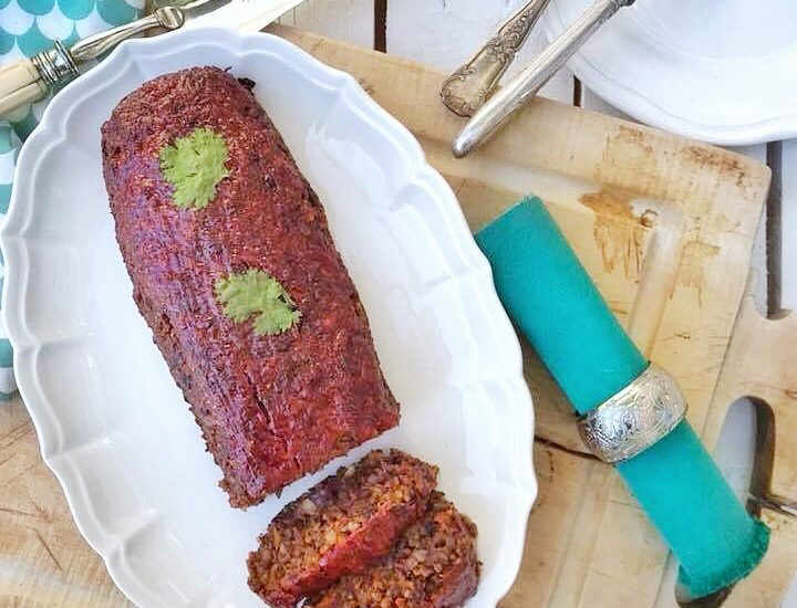 No meat loaf - pain de viande vegan