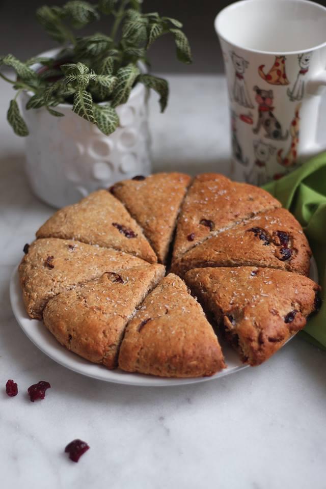 scones coco cranberry et peanut butter