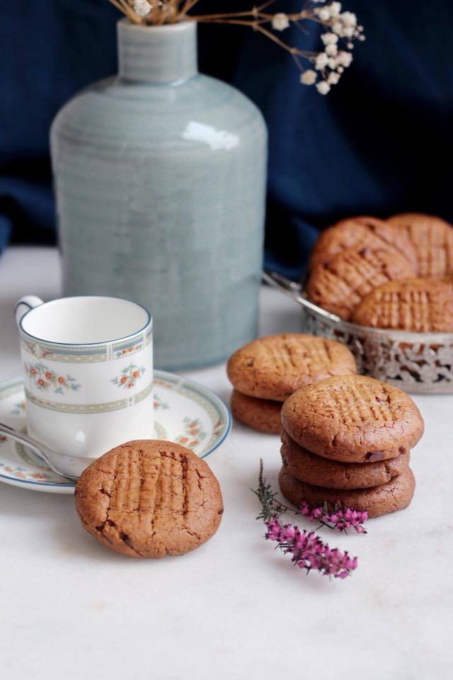 cookies ua beurre de cacahuètes IG bas