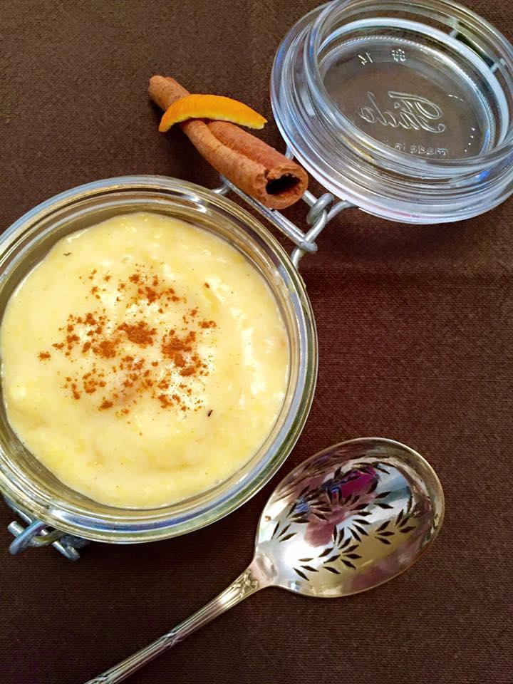 crème orange chiboust