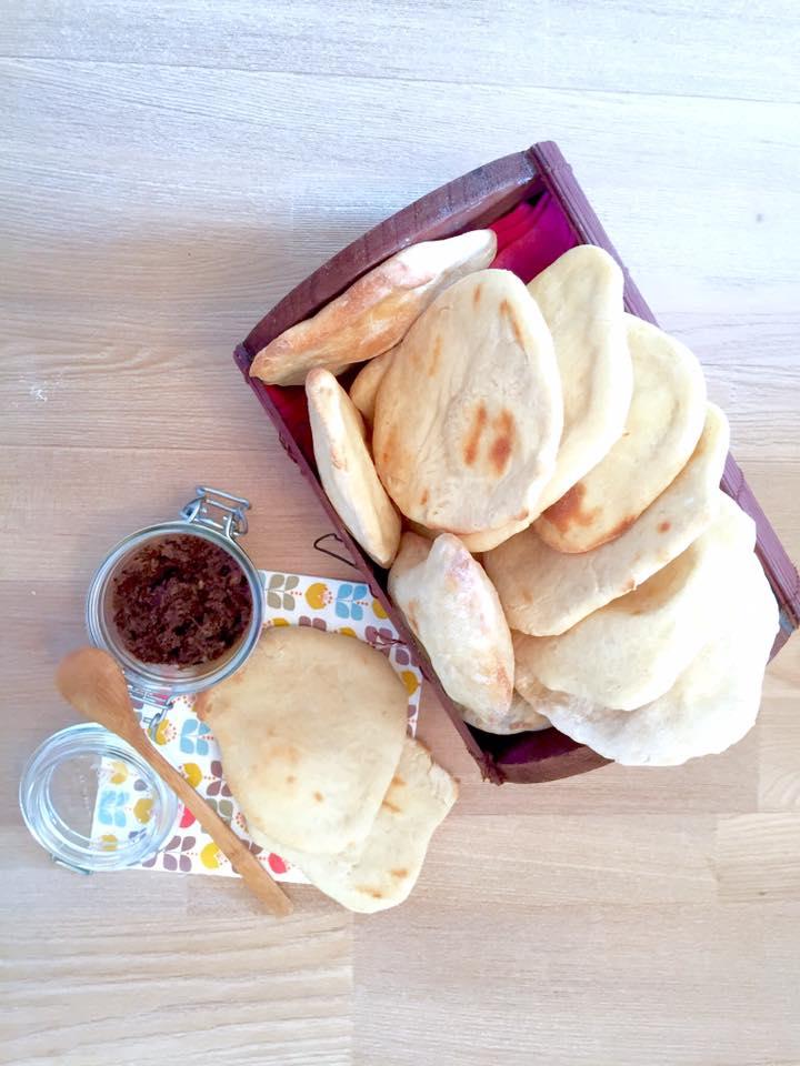 petits pains libanais