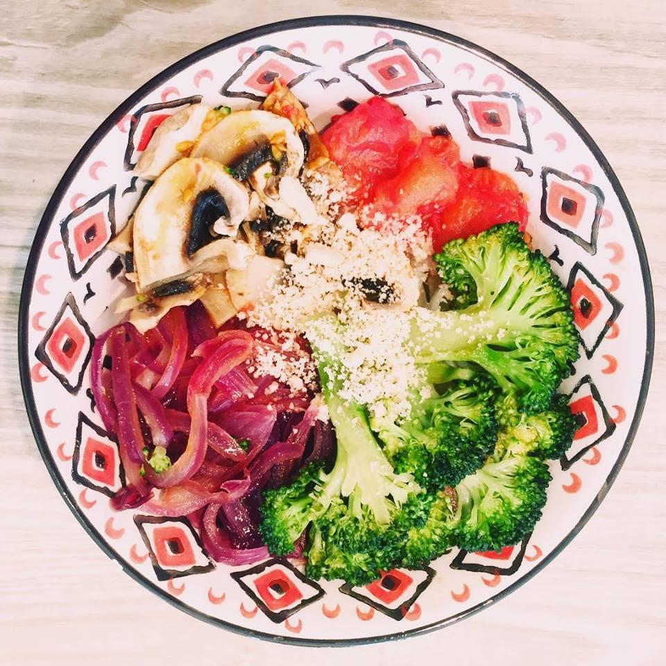 wook de légumes veggie bow