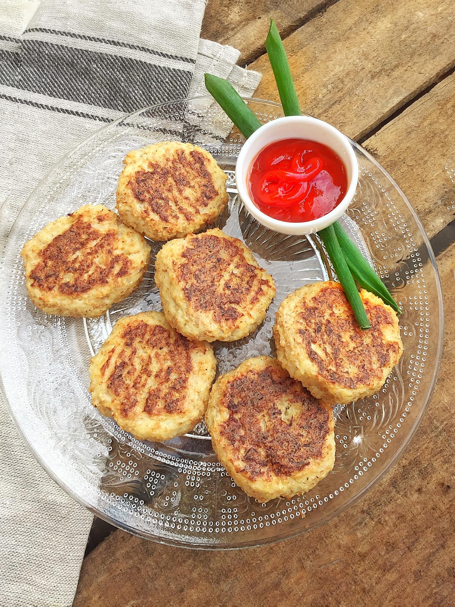 Croquette de chou-fleur au parmesan