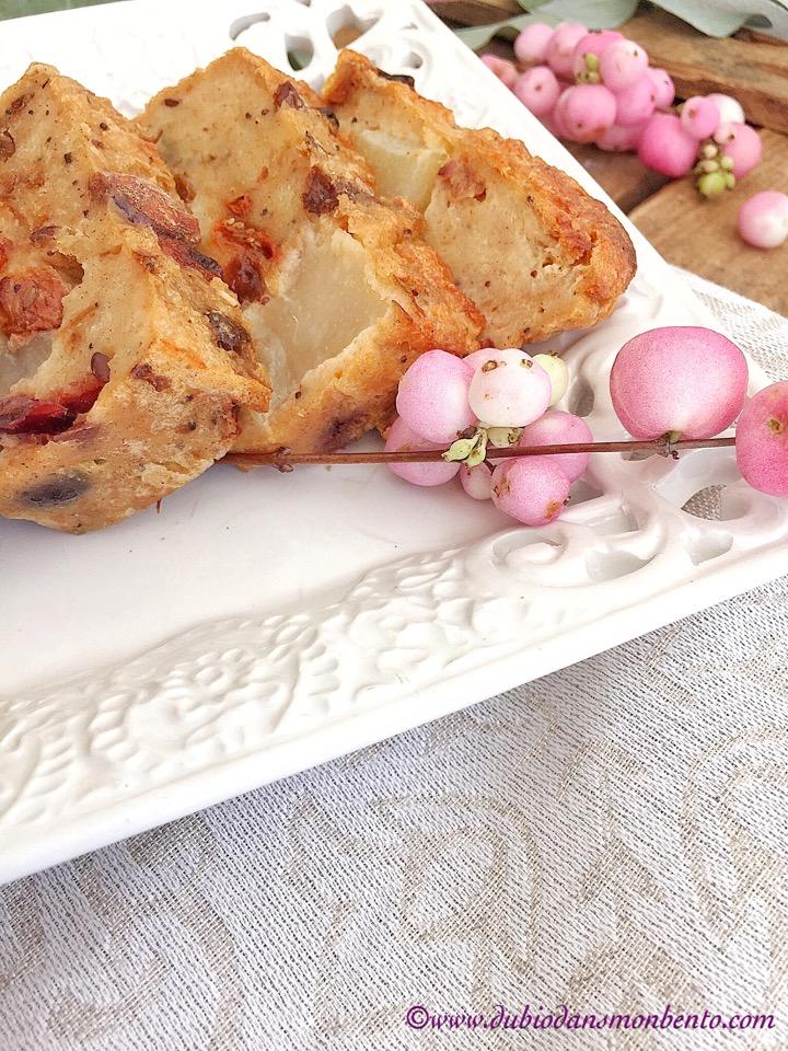 Pudding d'automne au pain
