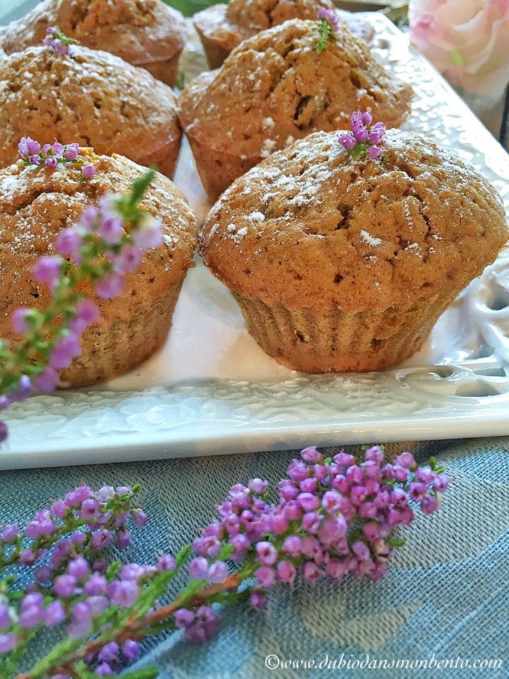 Muffins d'automne au potiron