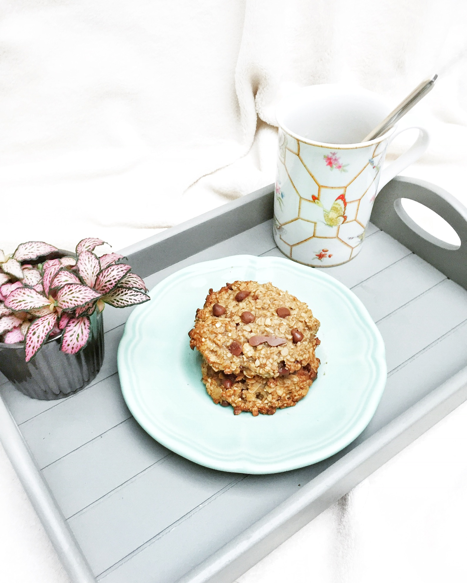 Cookies au chocolat vegan et healthy