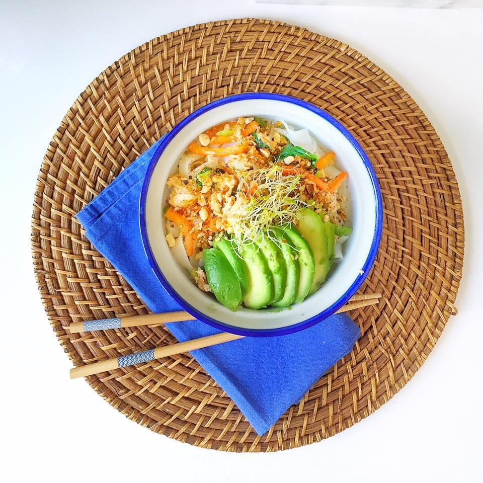 veggies bowl pour bowl party