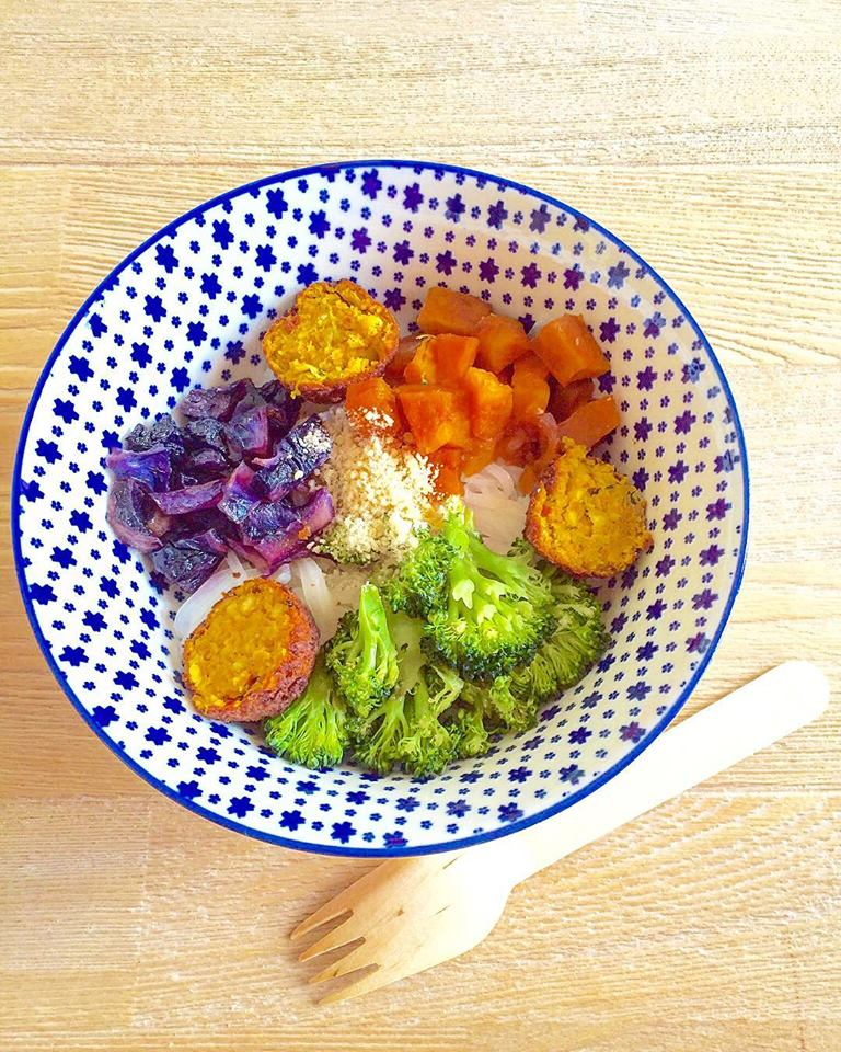 veggie bowl party