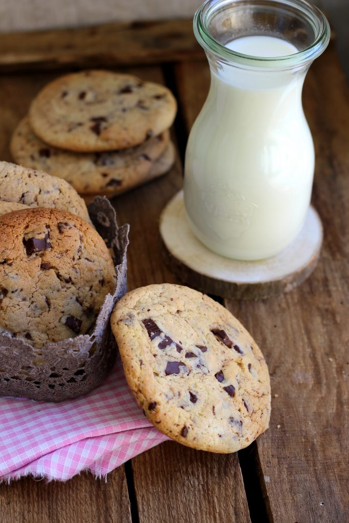 cookie géants aux pépites de chocolat