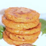 galettes de patate douce