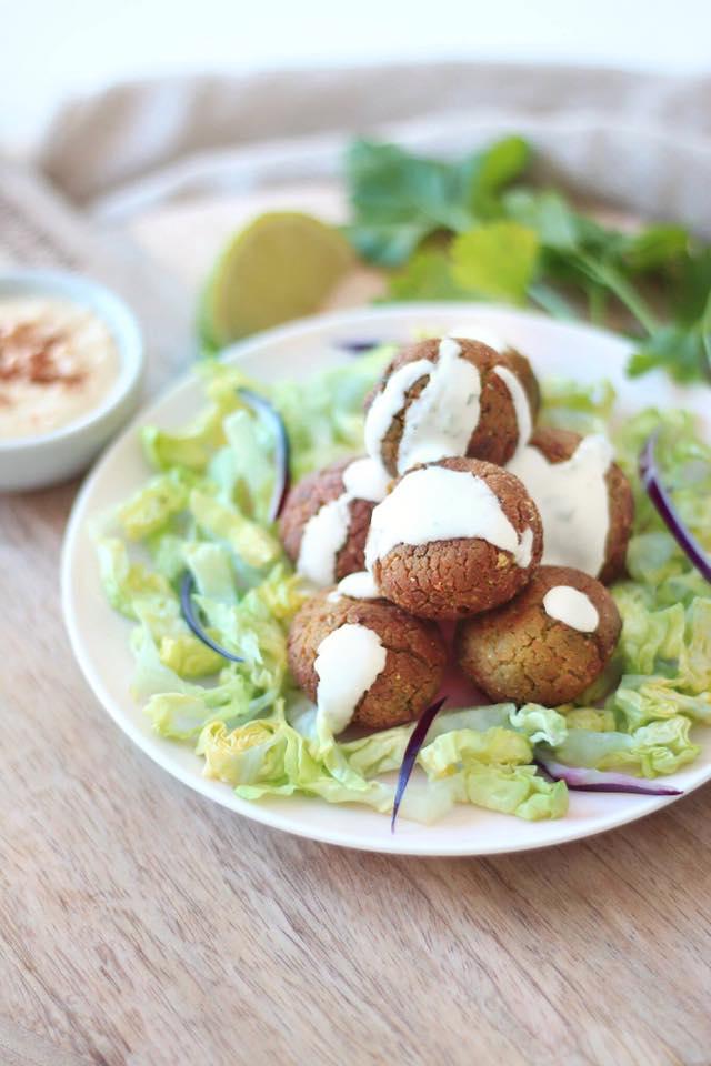 falafels au four vegan et sans gluten