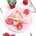samossas croustillants à la fraise