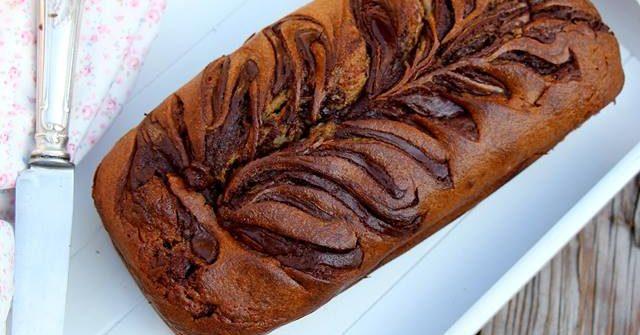 banana bread choco gourmand