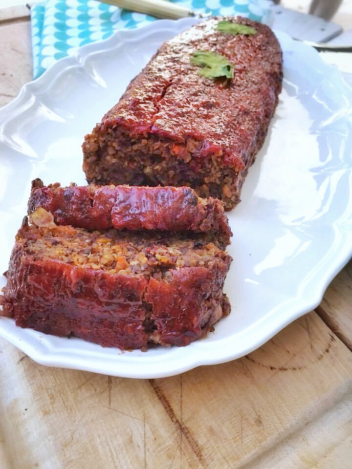 No meat loaf pain de viande vegan