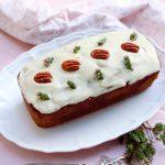 recette de carrot cake vegan