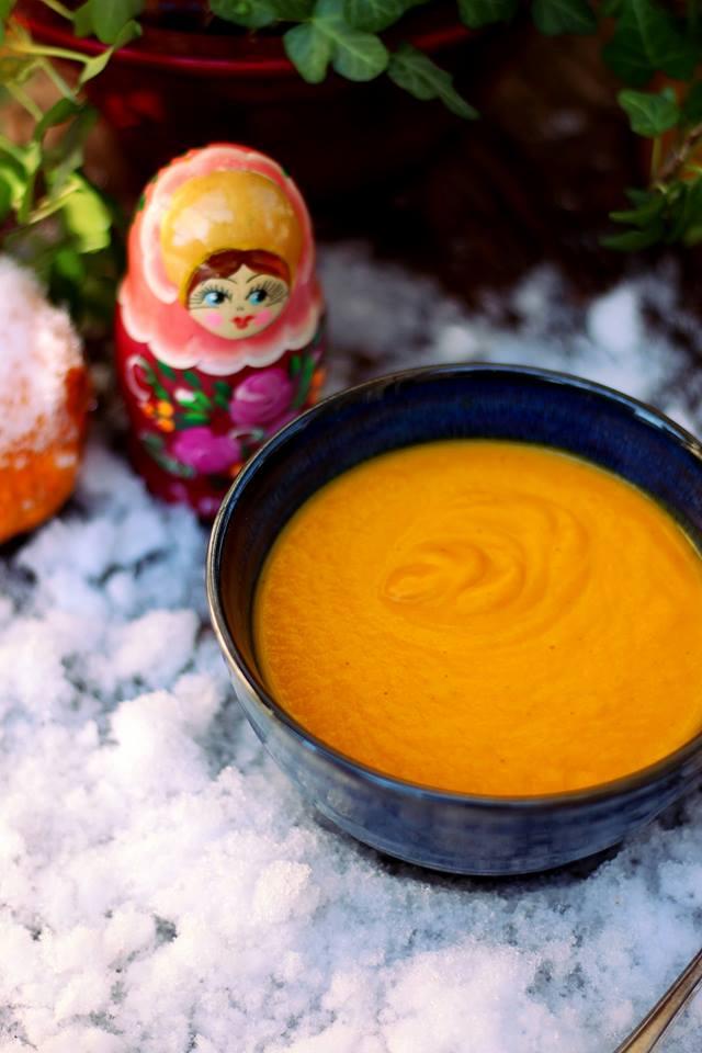 velouté potiron coco citronnelle