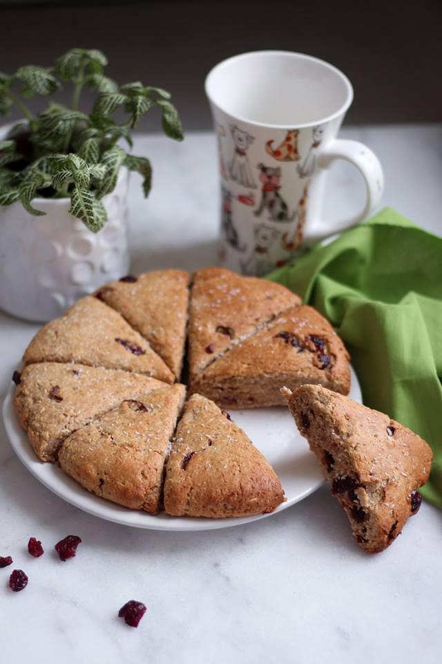scone coco cranberry et peanut butter