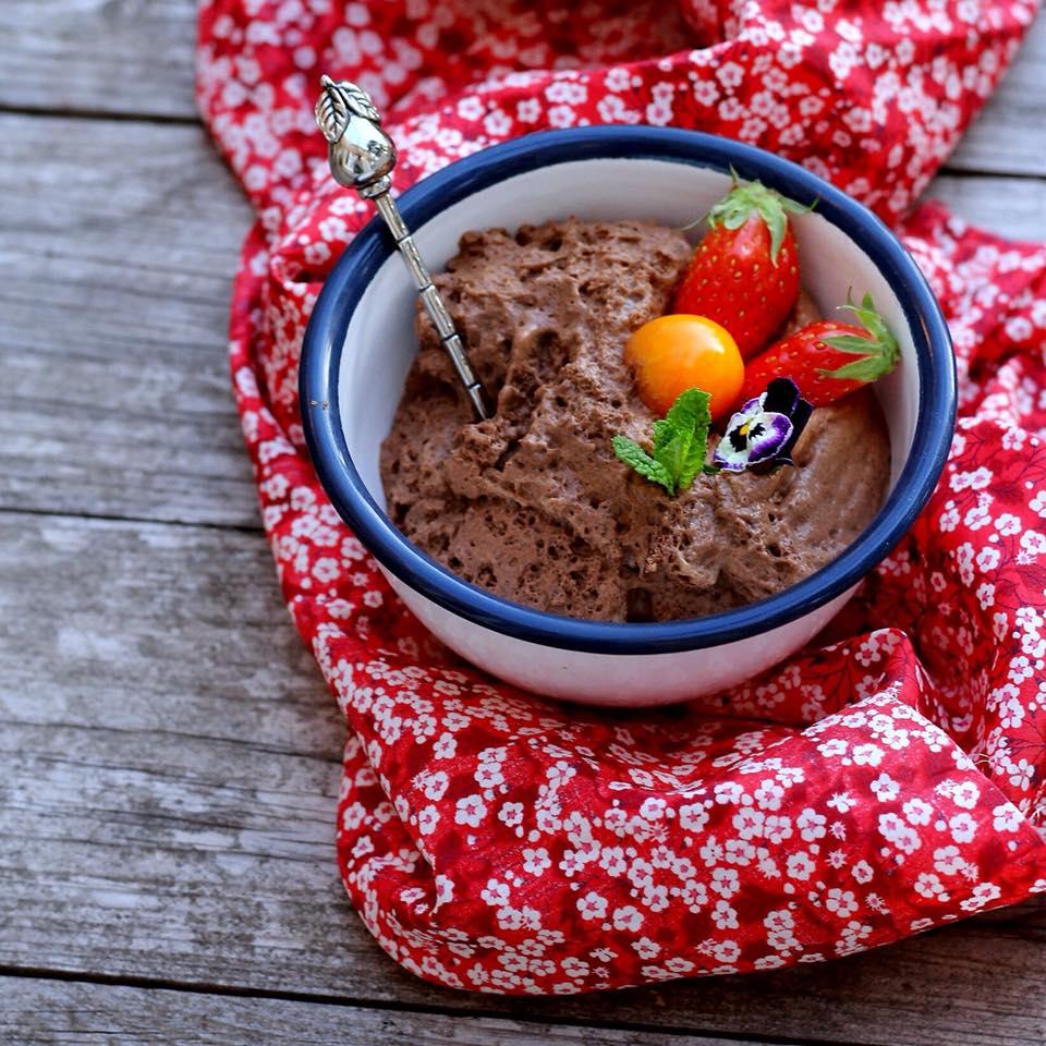 mousse aua chocolat sans oeuf