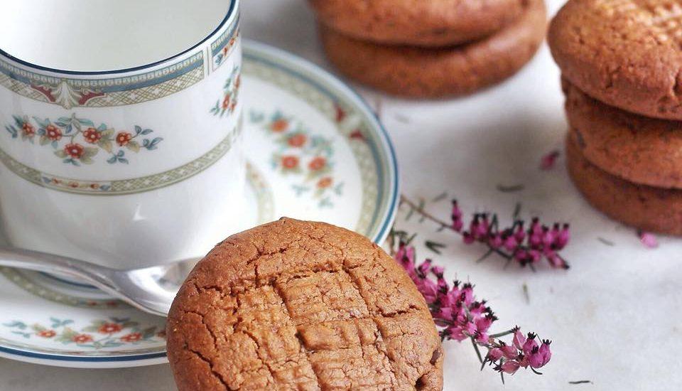 cookies au beurre de cacahuète IG bas