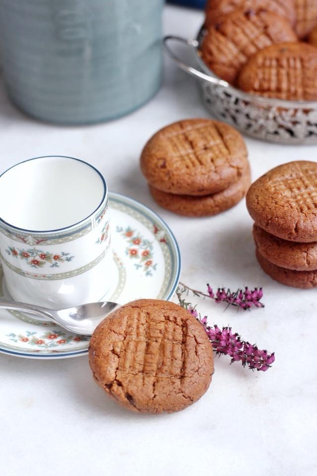 cookies au eurre de cacahuètes IG bas