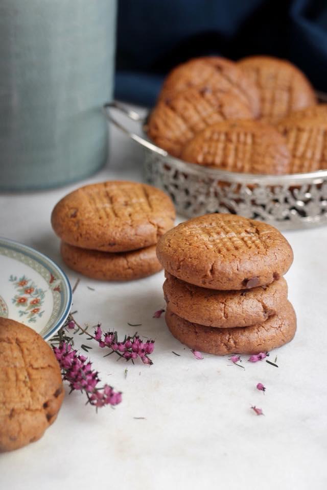 cookies au beurre de cacahuètes IG bas