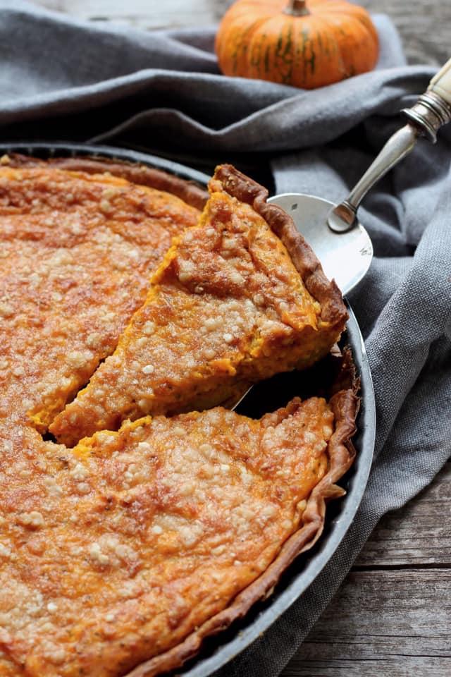 tarte au potimarron sans gluten