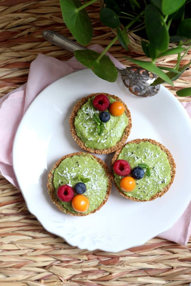 Petites tartelettes pomme kiwi