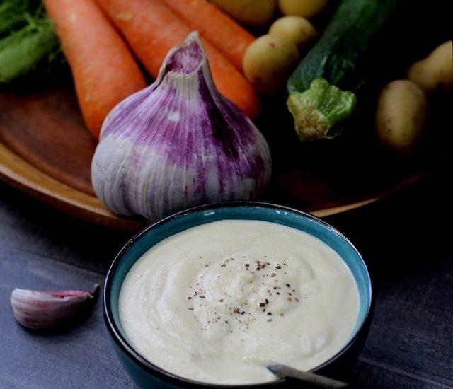Sauce végétalienne healthy