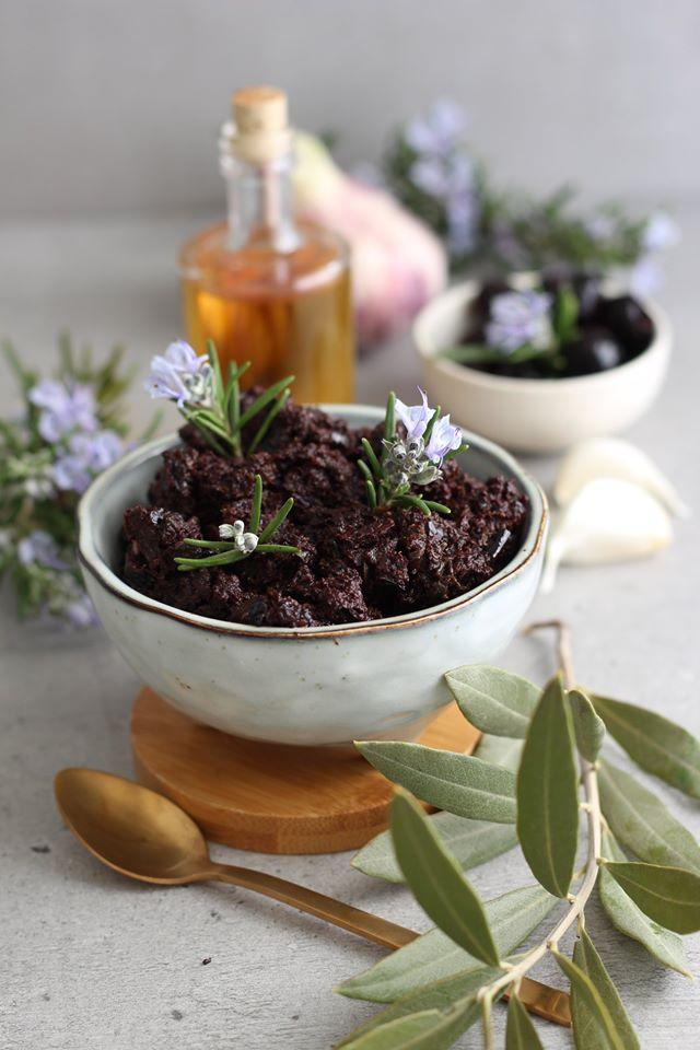 Tapenade olives noires vegan