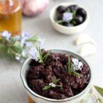 Tapenade vegan aux olives noires