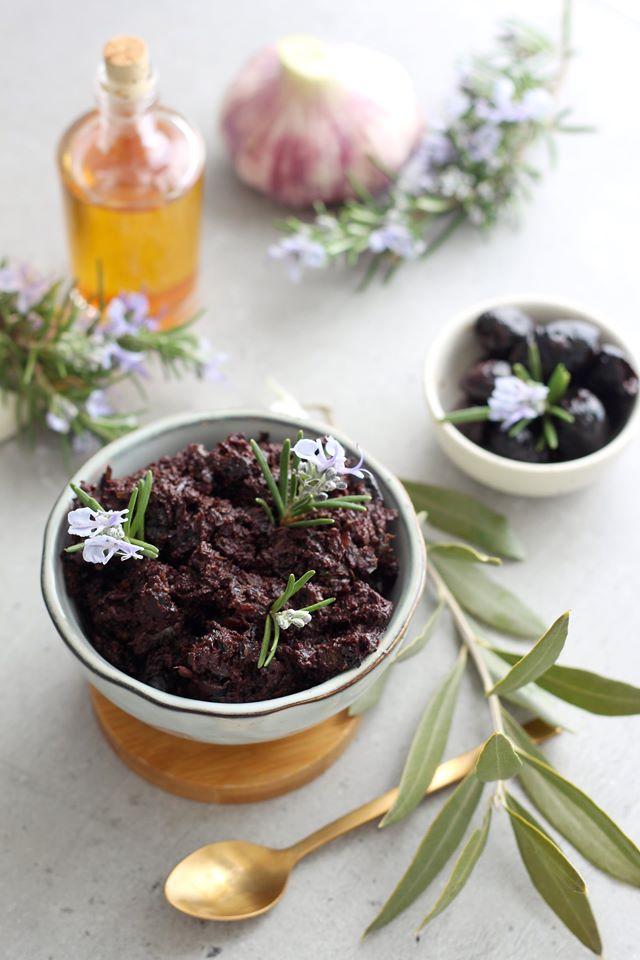 Tapenade végétale aux olives noires