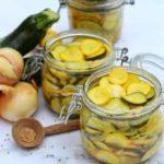 Pickles de courgettes