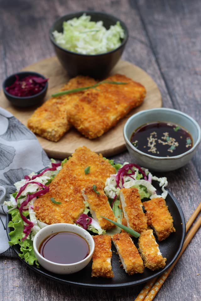 tofu katsu recipe vegan