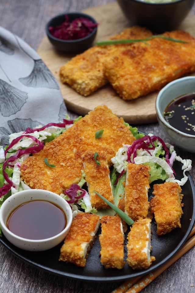 tofu façon tonkatsu