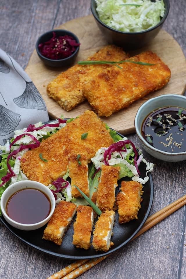 recette tofu tonkatsu